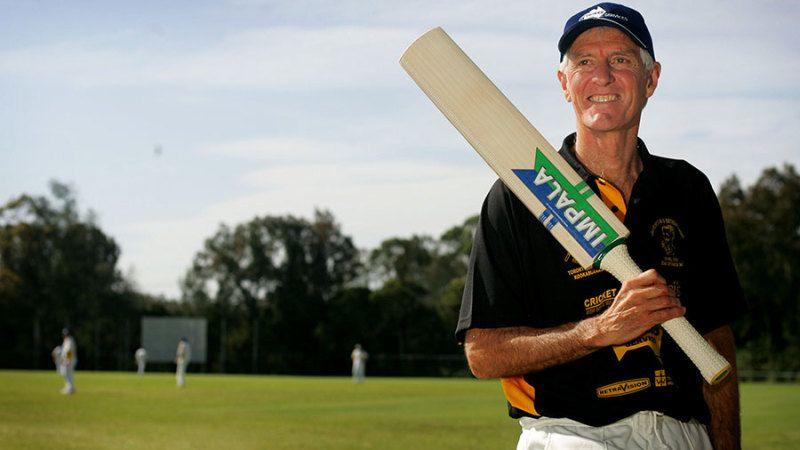 Australian cricketer Bob Holland