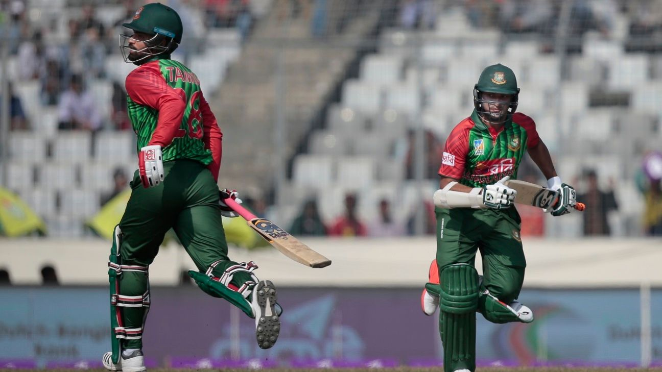 Shakib pleased with 'healthy competition' among Bangladesh's big three