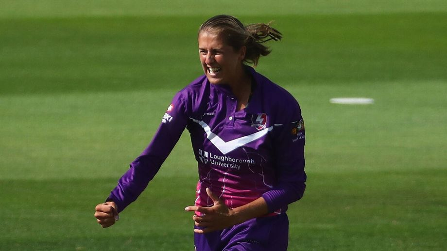 Kirstie Gordon also claimed 3 for 13 as Surrey Stars were bundled out for 95