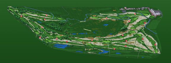 british open course map  carnoustie