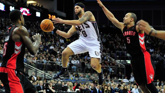 NBA Trends: New Jersey Nets with Deron Williams, Playoff ...