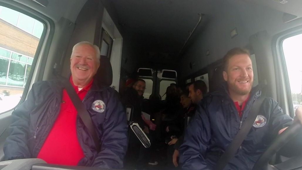 Dale Earnhardt Jr.: ESPN bus driver? - ESPN Video