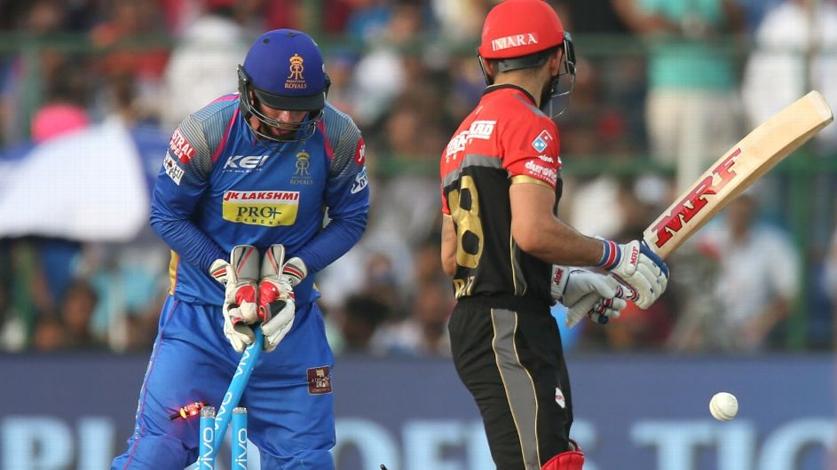 Shreyas Gopal's 4 for 16 and K Gowtham's all-round display sent RCB tumbling out of the tournament with a 30-run defeat in Jaipur