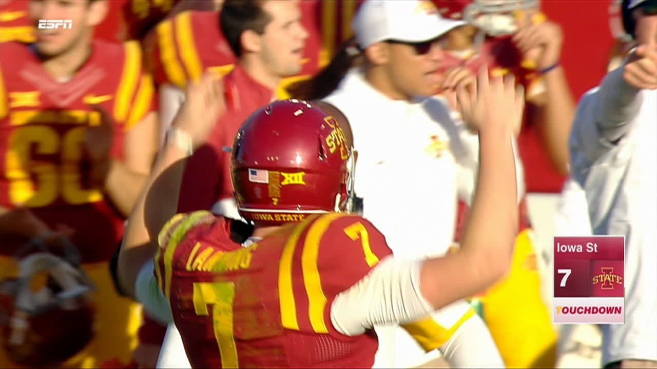 J lanning pass to a lazard for 24 yds for a td c for Cid special bureau 13 feb 2015
