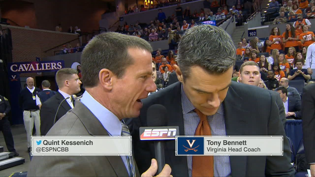 Tony Bennett halftime interview - ESPN Video