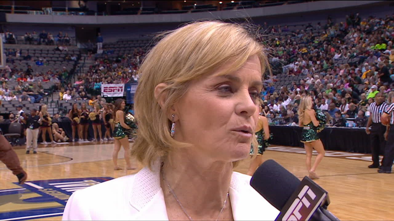 Baylor Coach Kim Mulkey Interview - ESPN Video