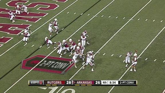 Arkansas vs Rutgers Highlight - ESPN Video