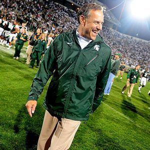 Michigan State Spartans coach Mark Dantonio had heart ...