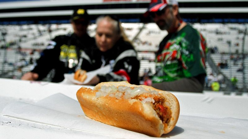 Martinsville Speedway reveals process of making famous hot ...