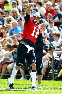 Tom Brady returns to practice