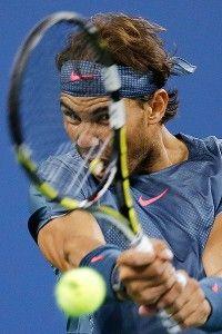 Swift effort from Rafael Nadal