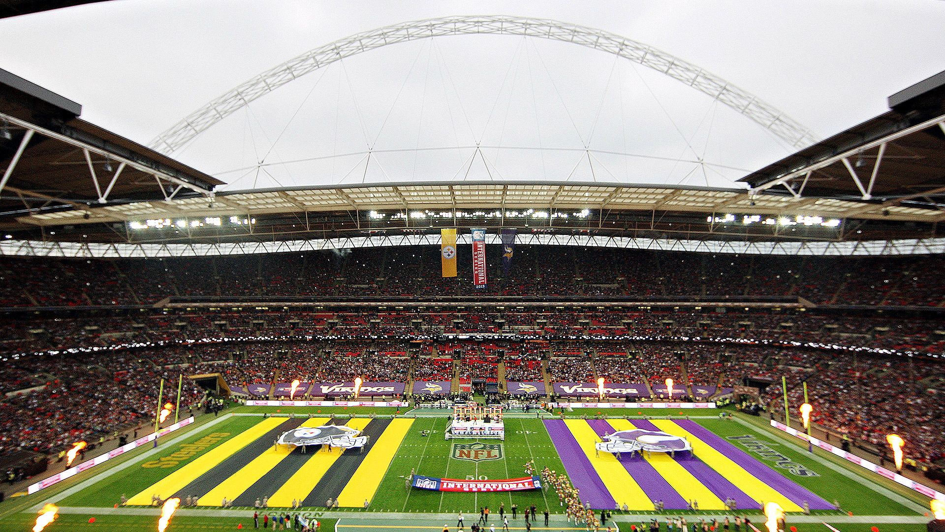 NFL sets 2014's 3 London matchups