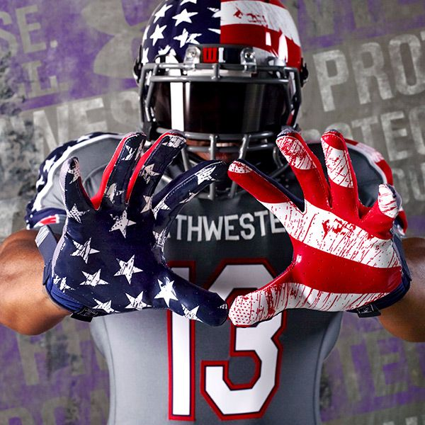 Northwestern Wildcats To Wear Red White And Blue Uniforms