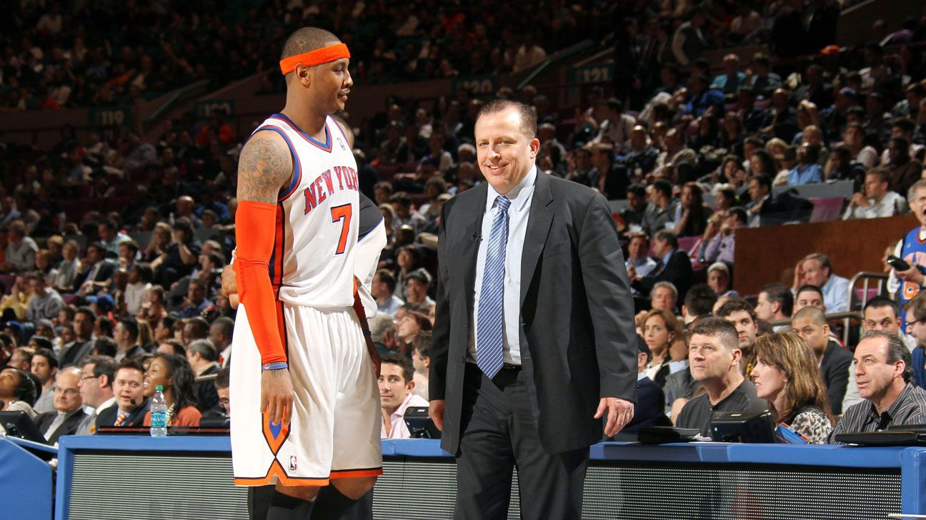 Carmelo Anthony doing due diligence