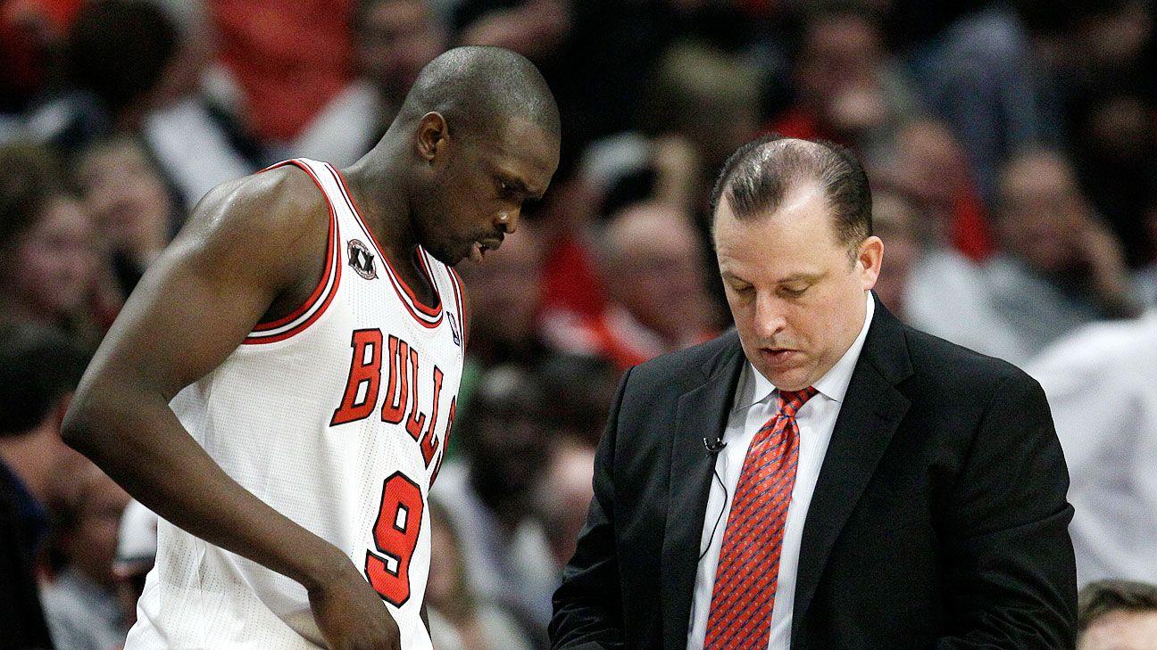 Bulls get Tom Thibodeau's frustration
