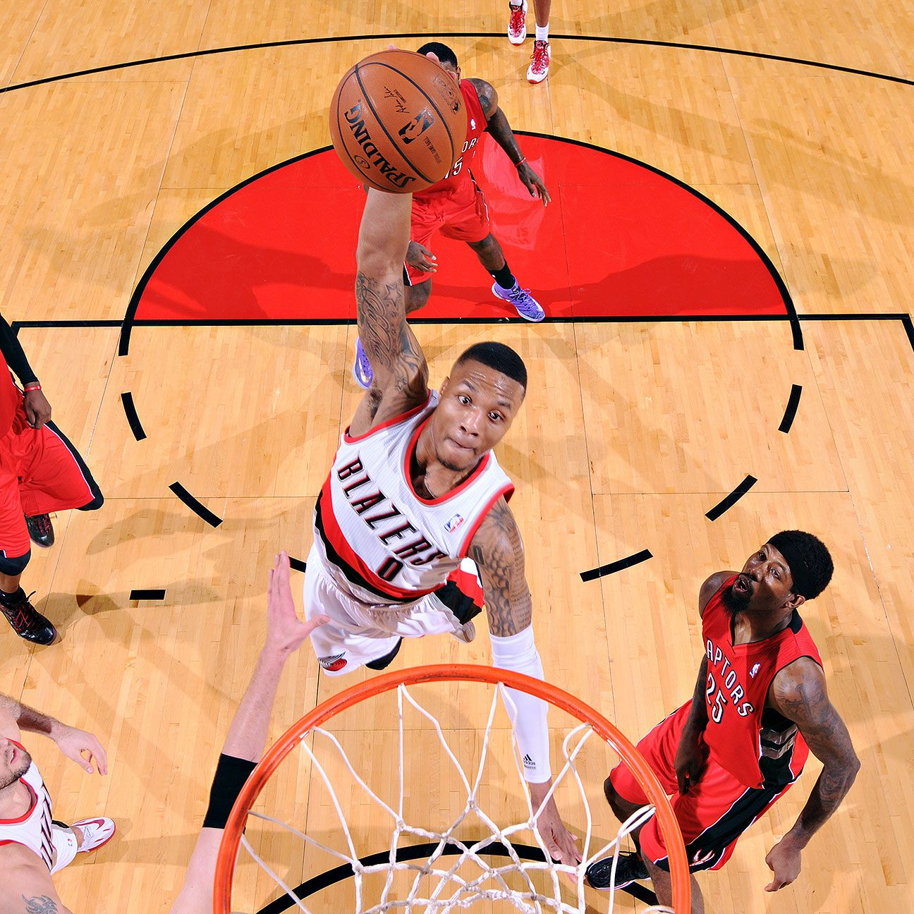 2014 All-Star Game -- Damian Lillard Of Portland Trail