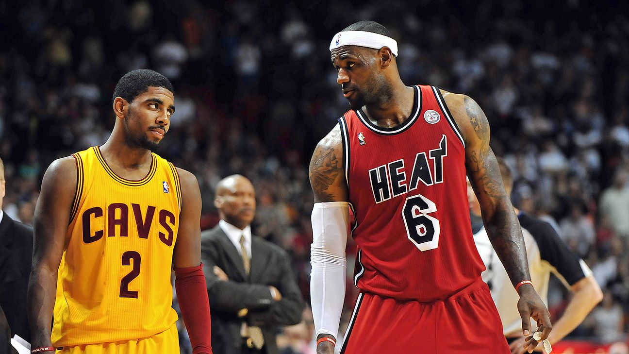 Kyrie Irving: LeBron return 'exciting'