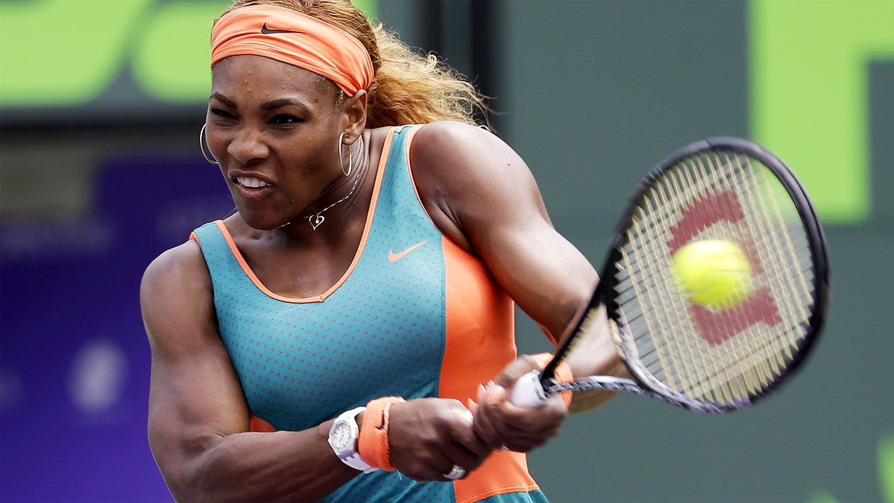 Serena storms back at the Sony Open