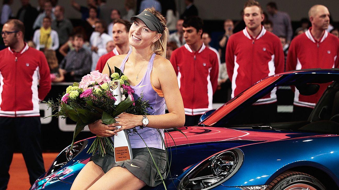Sharapova winning, staying busy