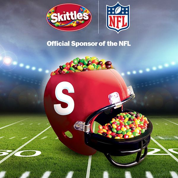 Skittles Announces Official Sponsorship With Nfl