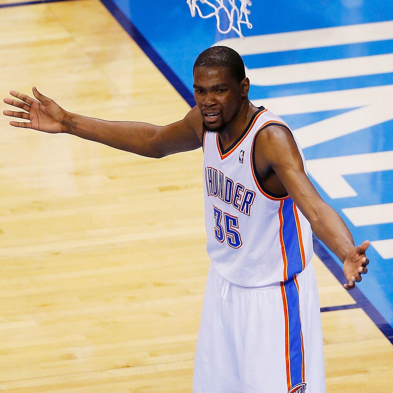 Kevin Durant has room for improvement - TrueHoop - ESPN