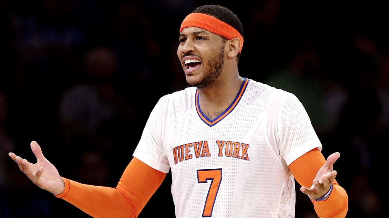 Sources: Melo to meet with Bulls first
