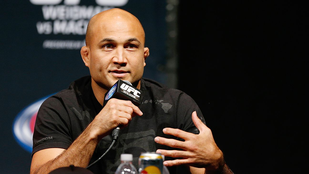 UFC cancels event in Manila after B.J. Penn withdraws with a rib injury