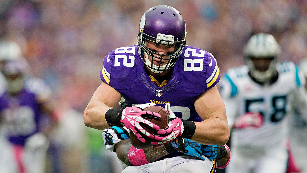 Kyle Rudolph, Vikings agree on deal