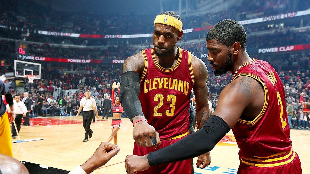 Kyrie Irving laughs off reports