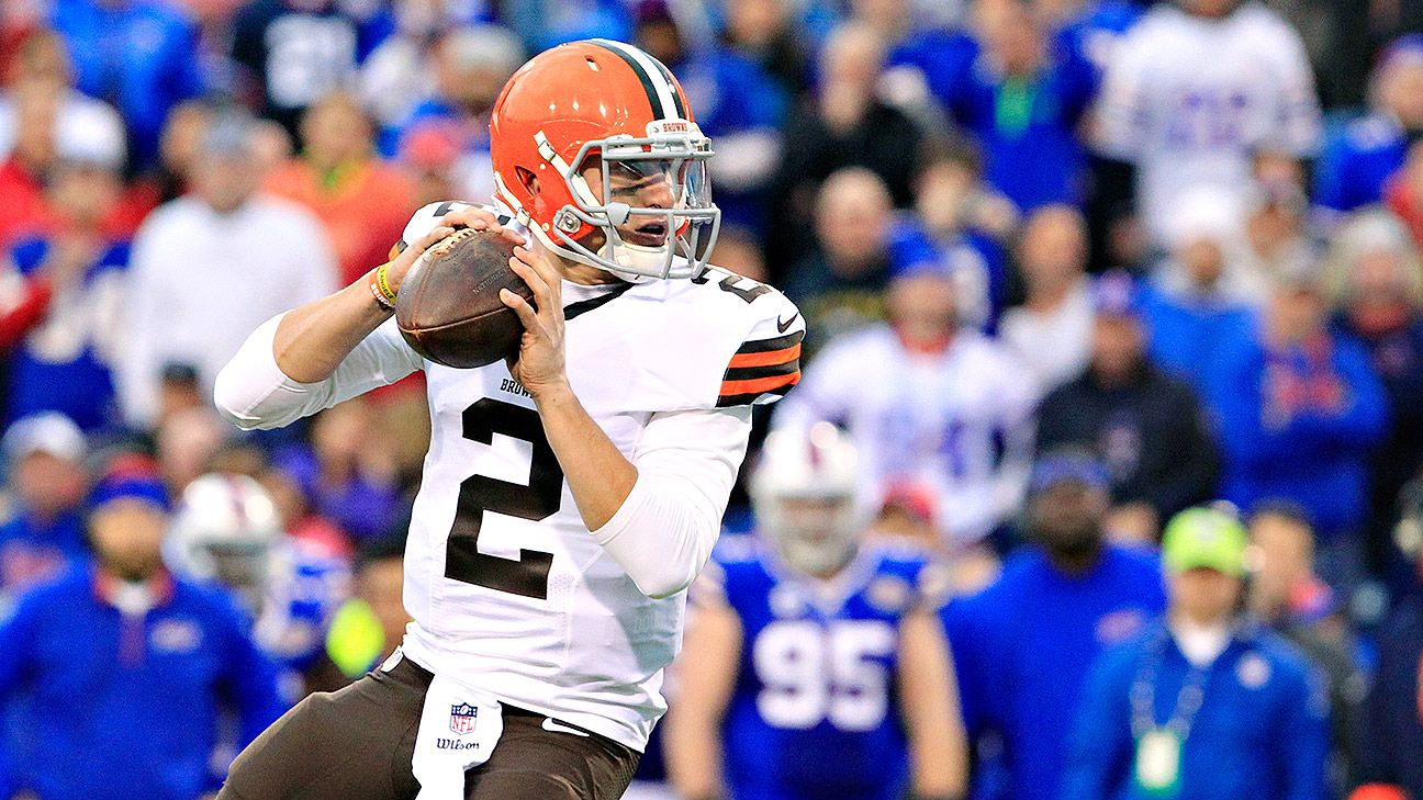 Joe Thomas: Browns were aware things 'getting in way' for Johnny Manziel