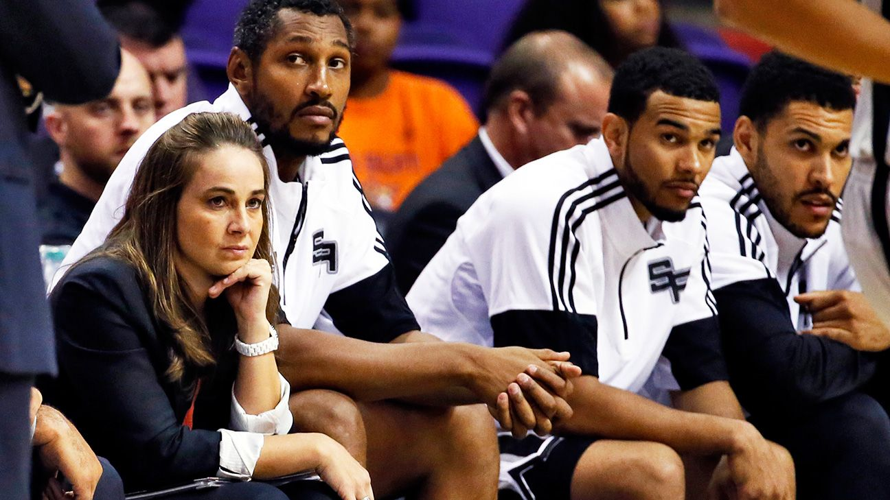 Becky Hammon to coach San Antonio Spurs summer league team