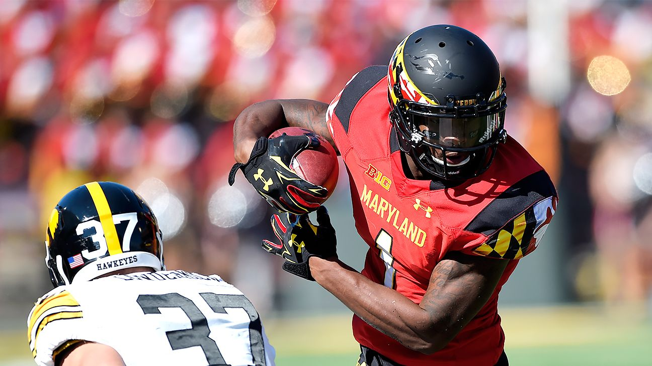 Maryland's receiver depth takes another hit