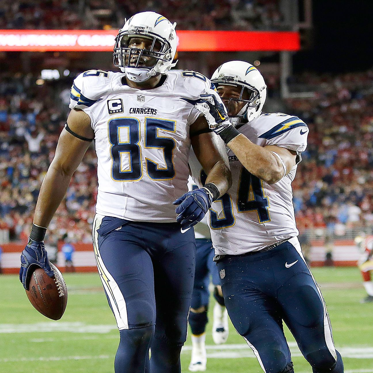 San Diego Chargers Football Score: Antonio Gates Of San Diego Chargers: No Idea Why PED Found