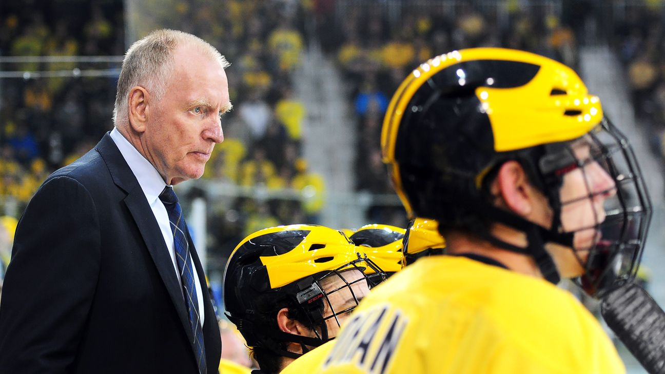 BIG10: Berenson Retiring After 33 Seasons Behind The Michigan Bench