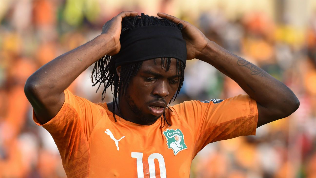 Ivory Coast s Gervinho to miss African Nations Cup with knee injury