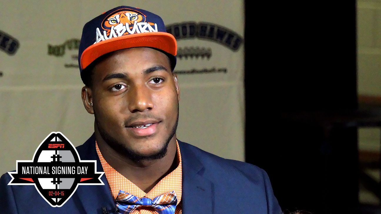 Auburn's rollercoaster ride ends with No. 1 recruit Byron Cowart