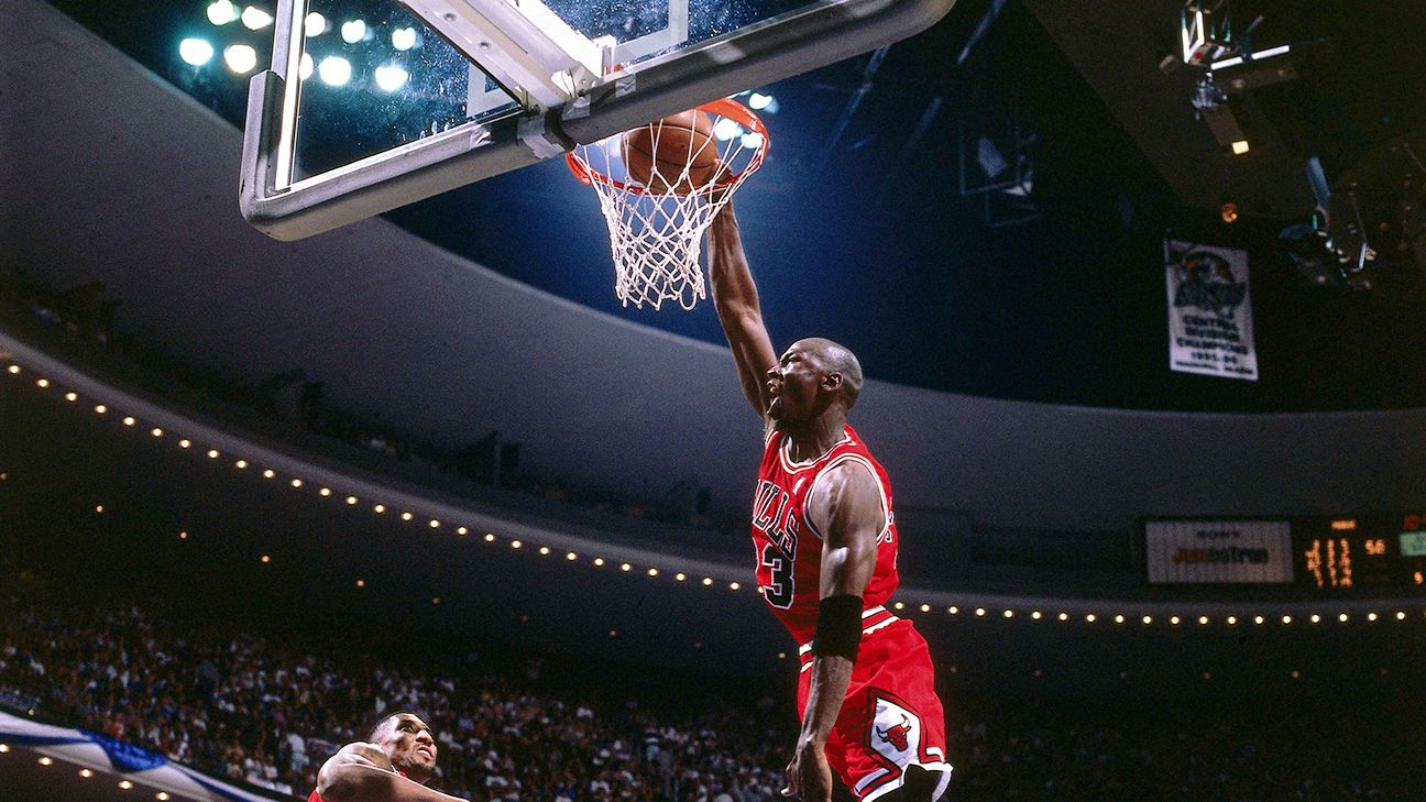 Michael Jordan remains top-ranked athlete in history by Harris Poll
