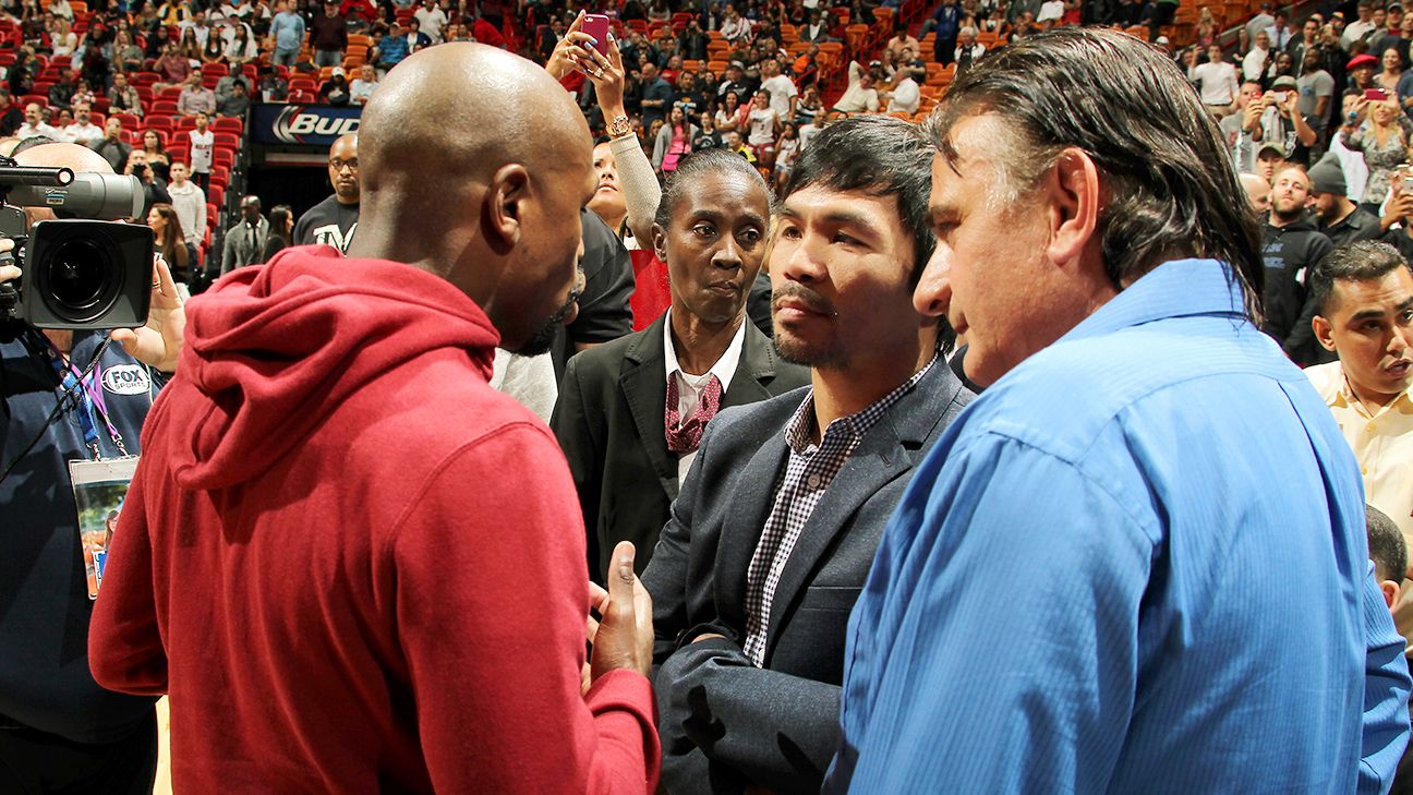 Mayweather-Pacquiao set for May 2