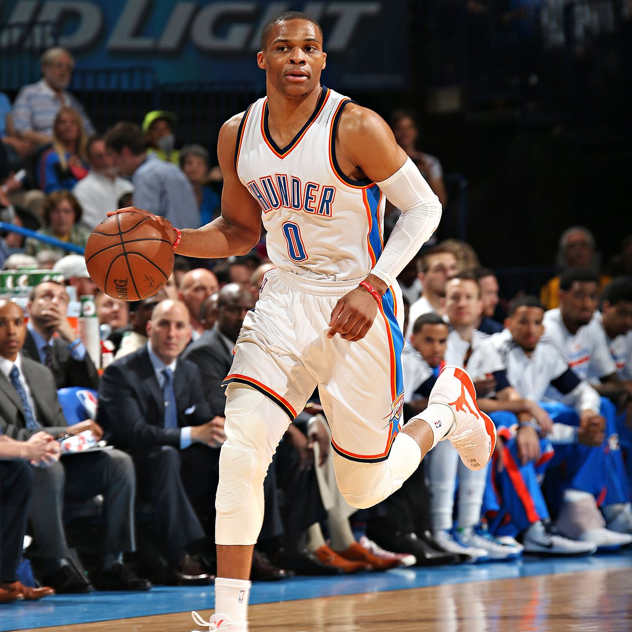 Russell Westbrook Of Oklahoma City Thunder Scores 54, But