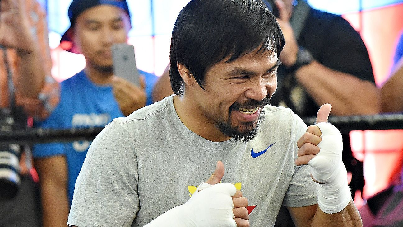 Manny Pacquiao: This would be 'biggest victory of my career'