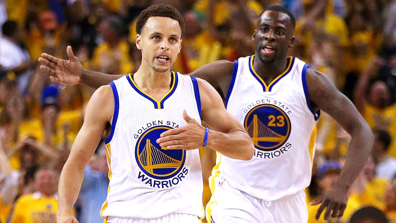 Draymond Green, Stephen Curry fire back at critics of Warriors' title