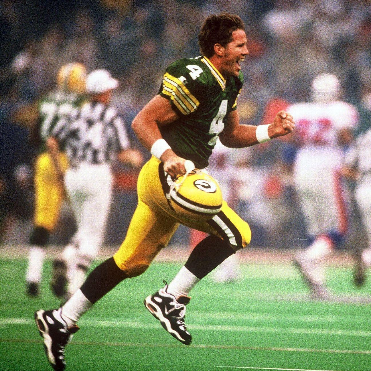 Brett Favre S Best Packers Moments Super Bowl Xxxi