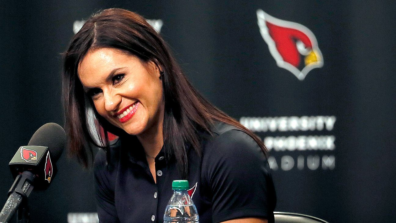 how jen welter got hired by the arizona cardinals