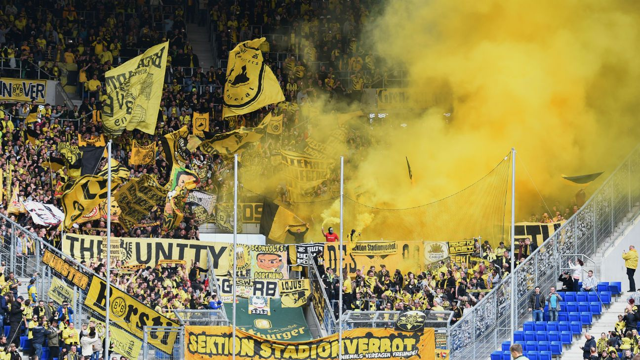 borussia dortmund fans to launch kein zwanni ticket protest. Black Bedroom Furniture Sets. Home Design Ideas