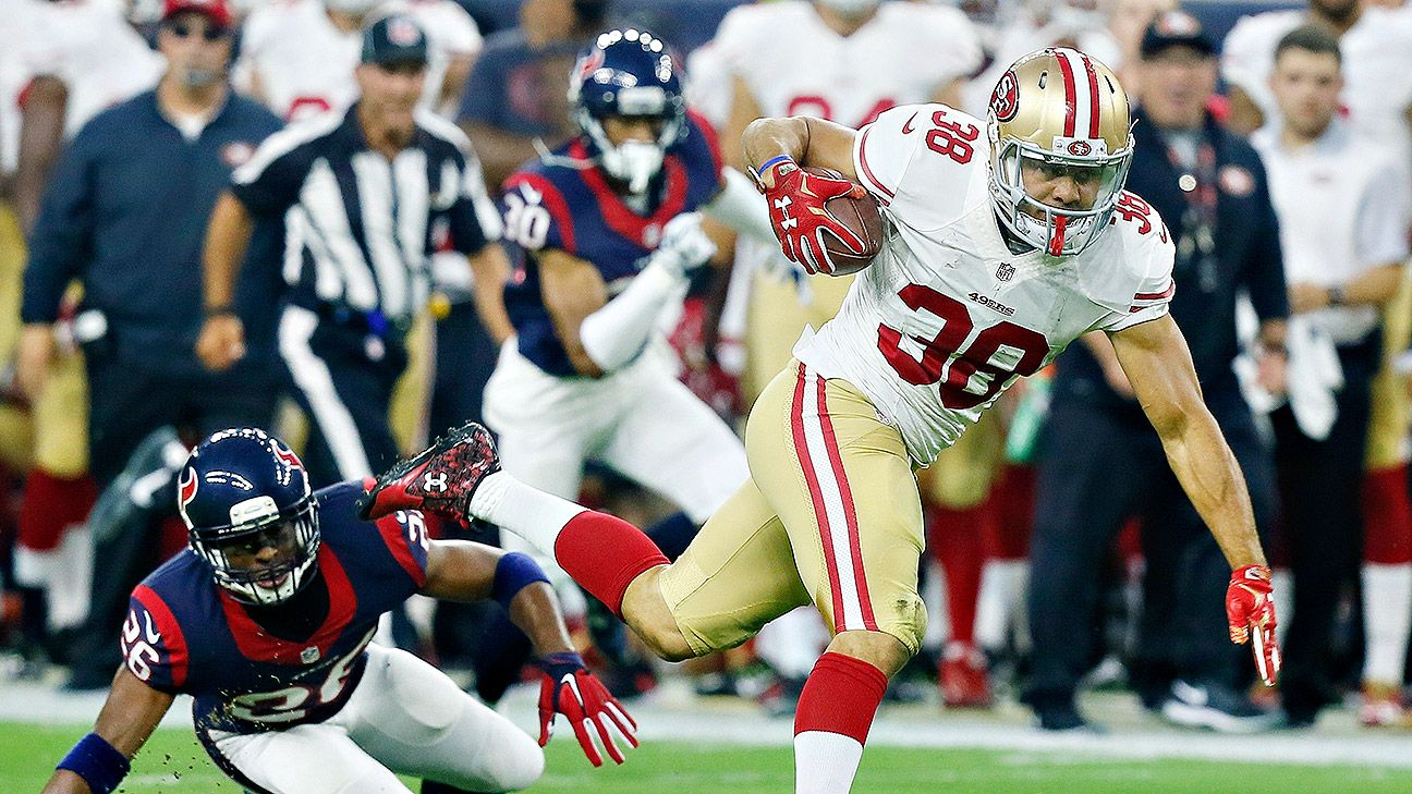 Jarryd Hayne of San Francisco 49ers retires from NFL to join Fiji Rugby Sevens for Olympics