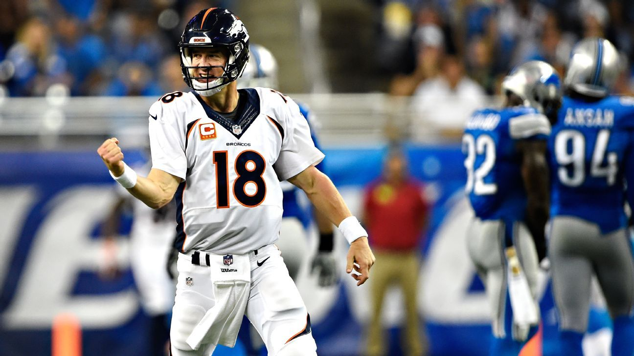 Broncos continue to lean on defense while Peyton Manning settles in