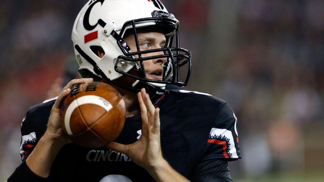 Hayden Moore To Start For Cincinnati Bearcats Vs Miami