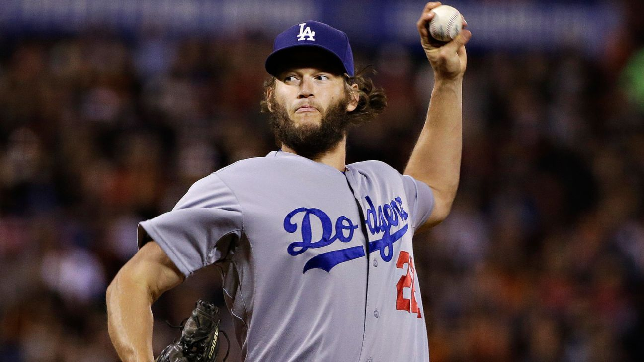 Don Mattingly looks at 'present tense' with Clayton Kershaw to open playoffs