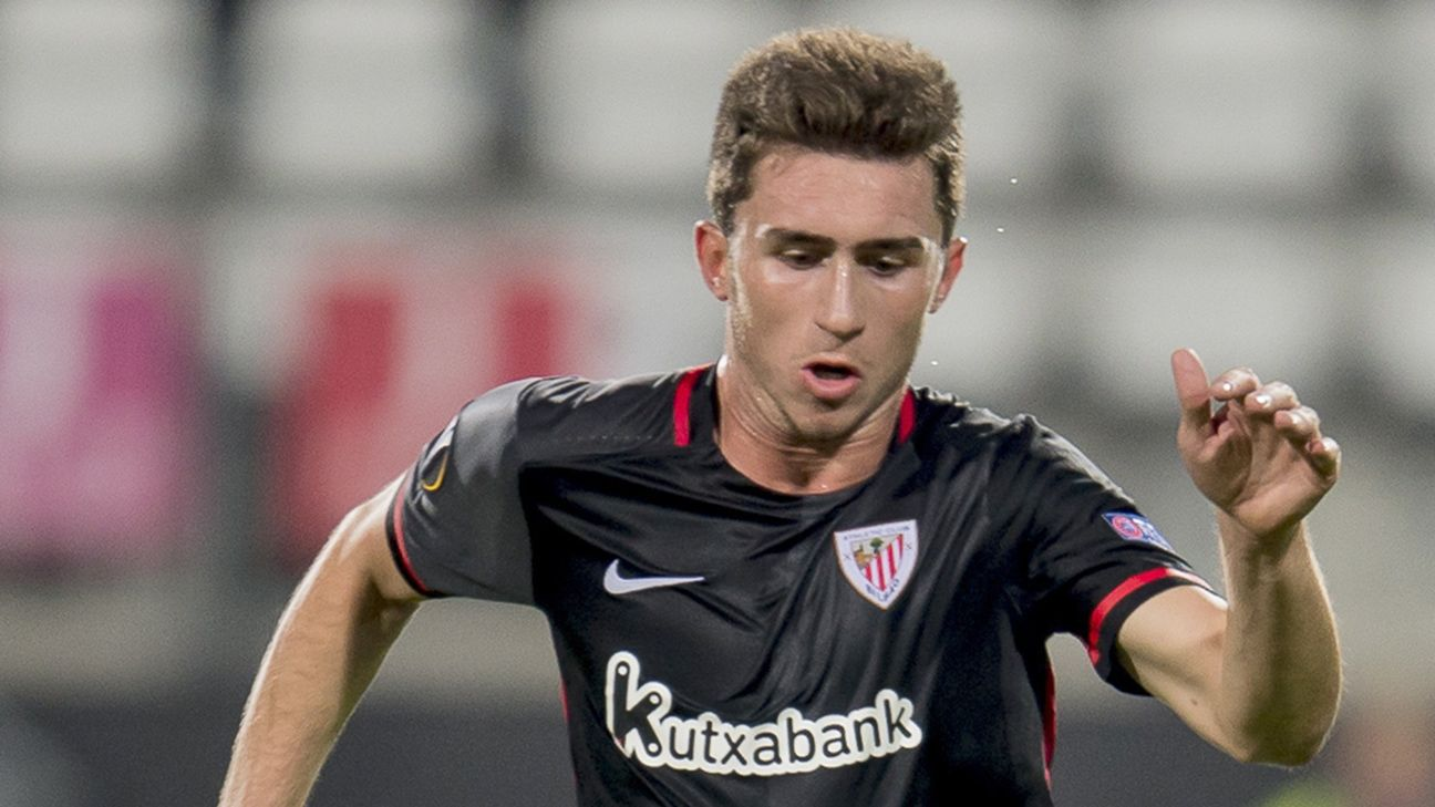 Aymeric laporte signs new athletic bilbao contract for Laporte news