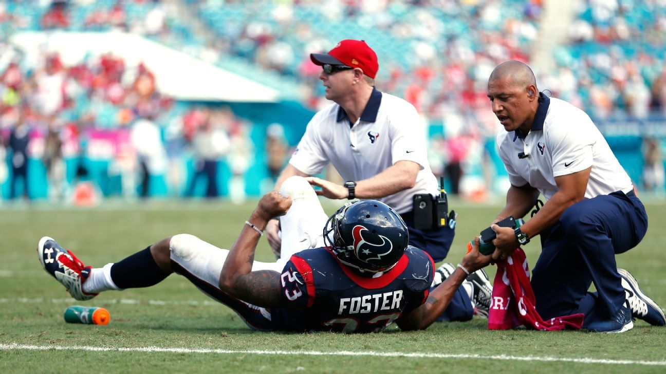 Image result for arian foster injury